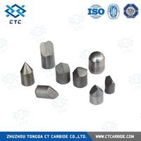 Zhuzhou Tongda tungsten carbide button bit/indexable inserts/braze tips/rods/strips and plate