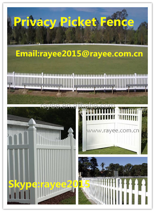 decorative metal fence panels, white vinyl picket fence /pvc recinzione, blanco cerca de vinilo