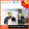 hydraulic log scrape grab bucket for excavator