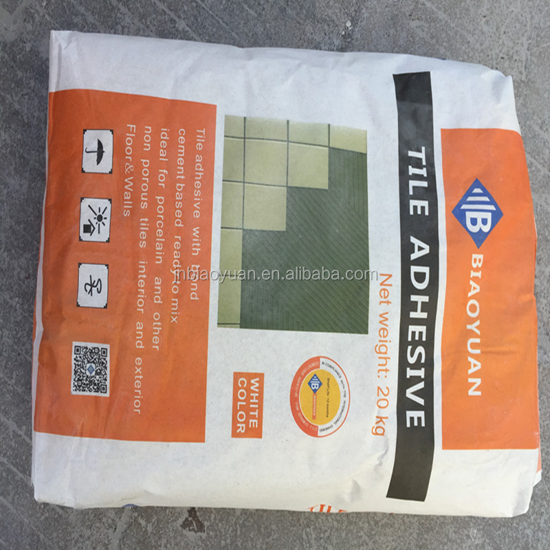Polymer cement based tile adhesive for Wall tiles, floor tiles crack filler
