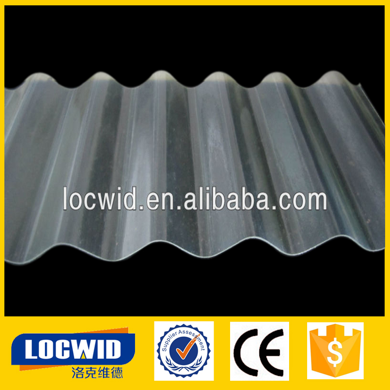 FRP (Fiber Reinforced Plastic) corrugate sheet for roofing