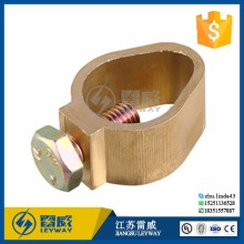 electrical cable earth grounding copper c clamp / pure copper wire clamp