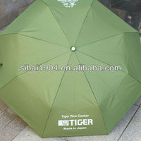 promotional foldded umbrella fold up umbrellas