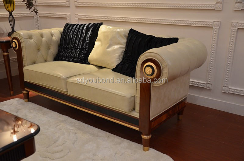 SENBETTER brand new collection 0068 European classical home/hotel sofa set in leather or fabric