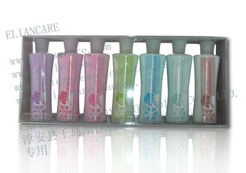 7PK SCENTED BODY LOTION BATH SET
