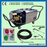500bar concrete surface roughing machine high pressure cleaner for sale
