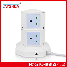 Factory Price 6 USB Charger Ports Dubai Travel Adapter Perfect For Office Use