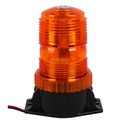 30Pcs LED Magnet/Permanent Mount Construction Vehicle Warning Strobe Beacon Light - Amber