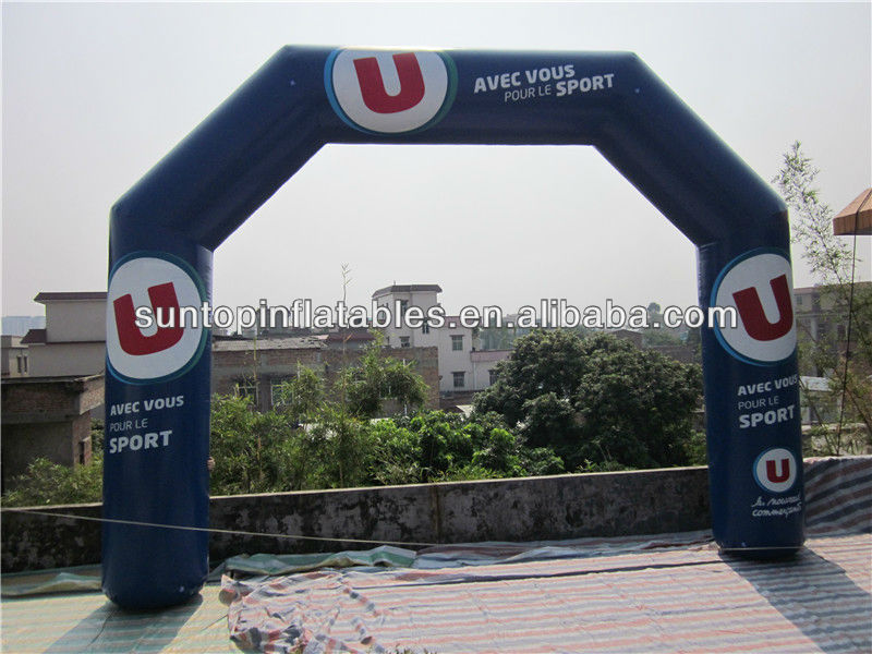 water theme inflatable arch with good quality and customized design