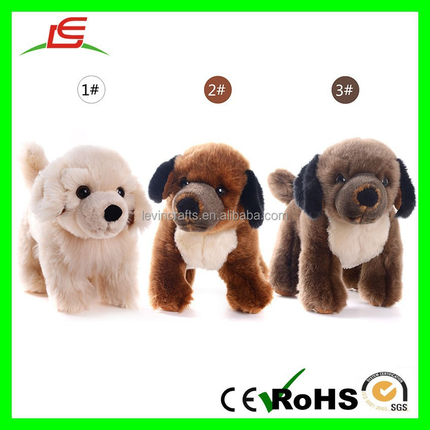 Plush White Collection Stuffed Animal Havanese Puppy Dogs Toy Dolls