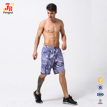 Wholesale Sublimation Summer Men Beach Board Loose Shorts Custom Mesh Quick Dry 100% Polyester Training Baseball Softball Shorts