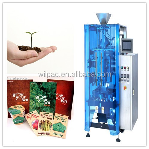 Vertical back sealing packing machine for coca seed