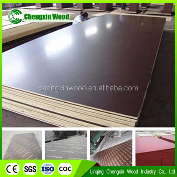 Export to Dubai Market Construction Plywood with 4 Inch*8 Inch 18mm