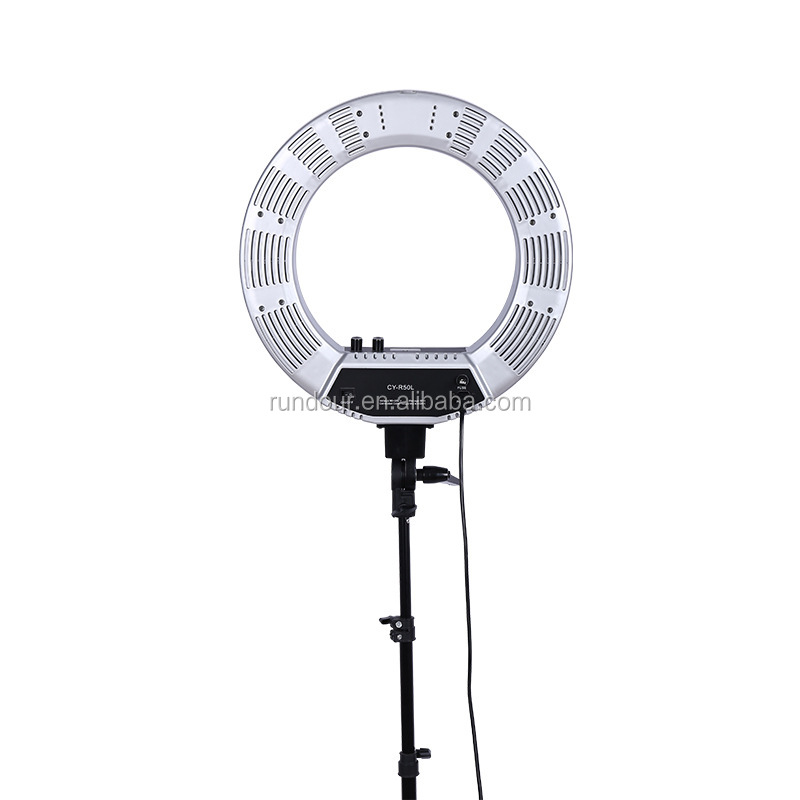 "LED 18"" Ring Flash Light Dimmable SMD LED Light Kit 5500K Photography Photo Studio Light"