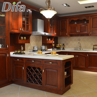 Custom All Wood Kitchen Cabinets,Birch Kitchen Cabinets