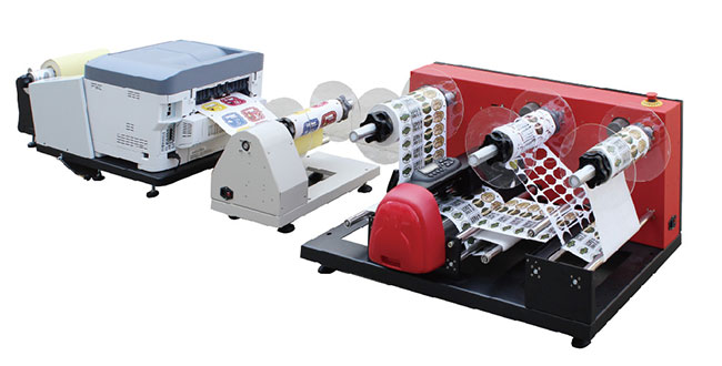 "US Stock-LCP 16"" Label Cutter - Printing & Cutting Solution, 110V"