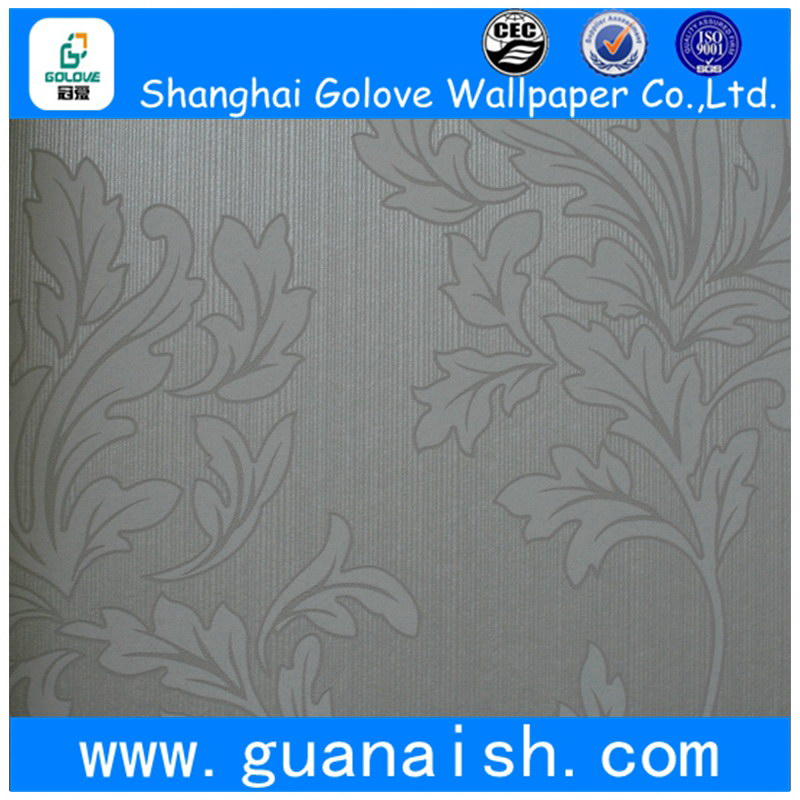 Nice-looking wholesale graceful floral vines wall covering