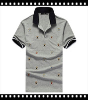 cheap polo shirts 2015 factory directly sell /hot sale new design printing Polo t shirt for young man
