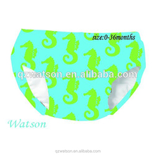 Top Quality Eco-Friendly Baby sea horse Diaper Bathing Swimwear