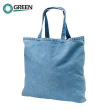 Modern Style Washable Denim Tote Bags Wholesale