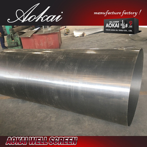 large diameter pipe 12inch rod base well screen SS304L with high quality
