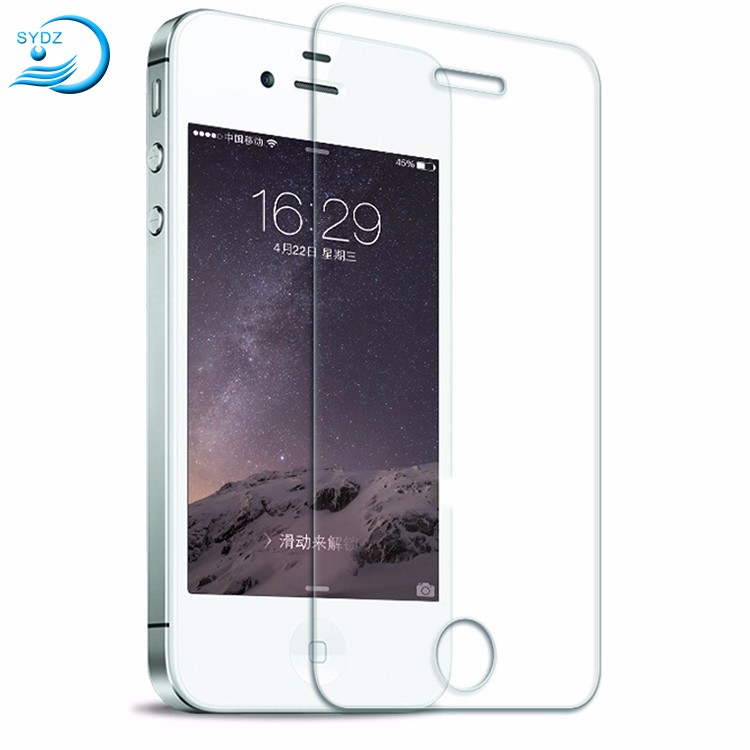 Hd Clear Nano 9H 2.5D For Iphone 4 Screen Protector