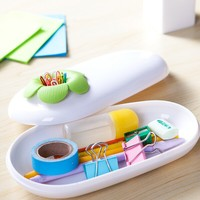 Beautiful Lotus Shaped Plastic ABS and TPE Multi-functional Storage Box Container