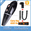 HF2003 4800pa Car Vacuum Cleaner 120W 12V Wet&Dry Portable Handheld 16.4FT(5M)Power Cord with Carry Bag Auto Cleaner