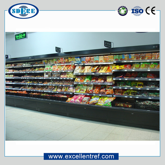 DMM1220O1 Vertical Showcase Cosmetic Refrigerator for Supermarket Display