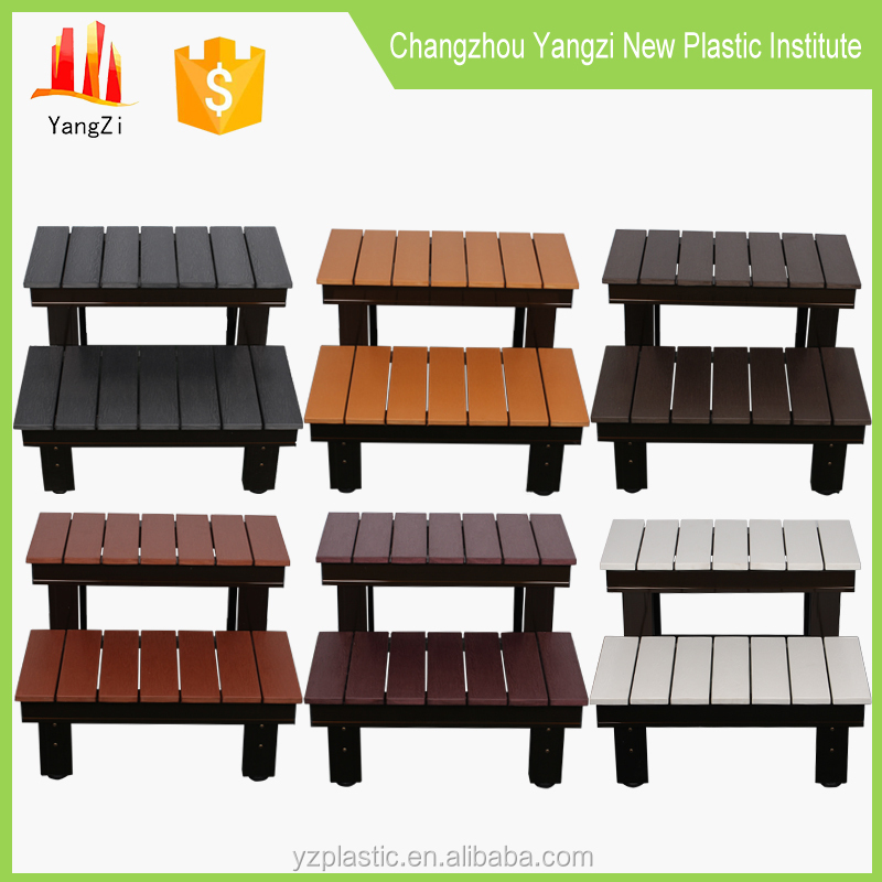 Popular outdoor SPA PS material step chair