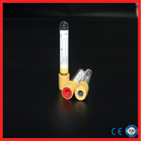 Medical yellow cap rubber stopper for blood test tube