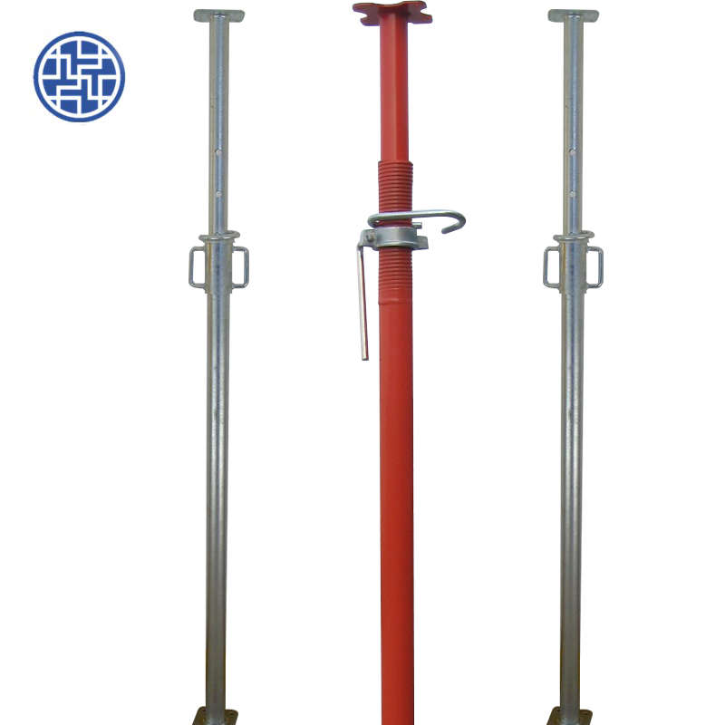 Painted Adjustable Steel Props Acrow Prop Shoring Jacks for Sale