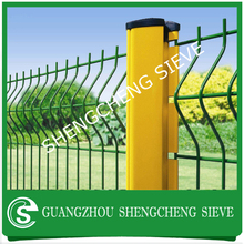 Alibaba promotion!!! Galvaninzed wire fencing Nylofor fence, 3D bending fence