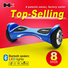 HX band Factory price hoverboard, waveboard skate, 2 wheel electric scooter/ glider