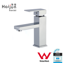 Haijun Top Selling High Quality Single Handle Deck Mounted Watermark Water Basin Taps Faucet