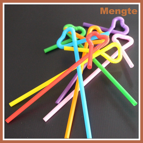 Attractive disposable party Bar artistic drinking straws