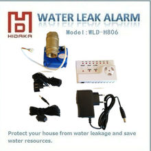drop shipping DC12V Home Standalone wired Sound alarm portable water leak detector