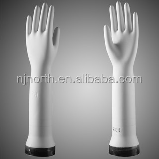 pitted curved medical ceramic gloves mould