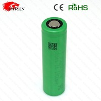 Original US18650V3 2250mah high discharge rate battery cells flat li ion battery