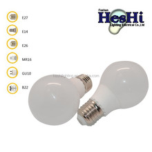 a45 e27 aluminum inside Glass global bulb lamp led led lights manufacturing company 6W E27 led bulb