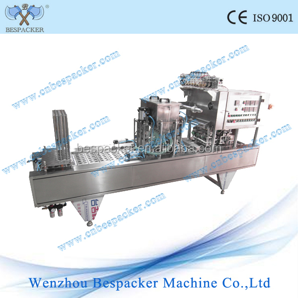 automatic cups drinking water filling and sealing machine