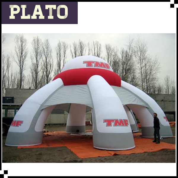 inflatable tent, air blow tent, spider marquee