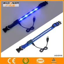 waterproof led dog collar/led dog collar dog leashes sex dog/led dog collar