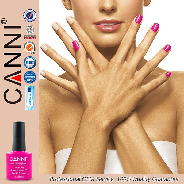 #30917W CANNI Factory nail polish gel new 239 colors gel nail lacquer 7.3ml uv gel gel nail polish