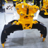 360 Degree Rotation Durable and Safety Excavator Rock Grapple