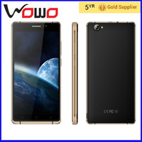 6.0 inch Shell Material Metal frame body and plastic cover cases smartphones mobile phone O1