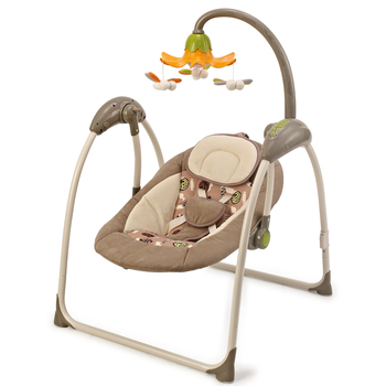 New design electric baby swing with App,Mp3,remote control,sound control