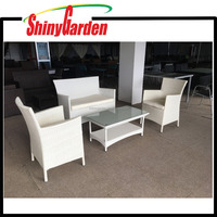 4PCS Rattan Wicker Garden Outdoor Furniture , Rattan Sofa Set , Rattan Chair