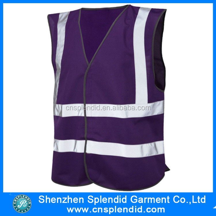 Chinese clothing manufacturers cheap safety hi vis singlet for men