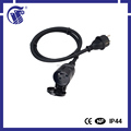IEC female connector double extension cord
